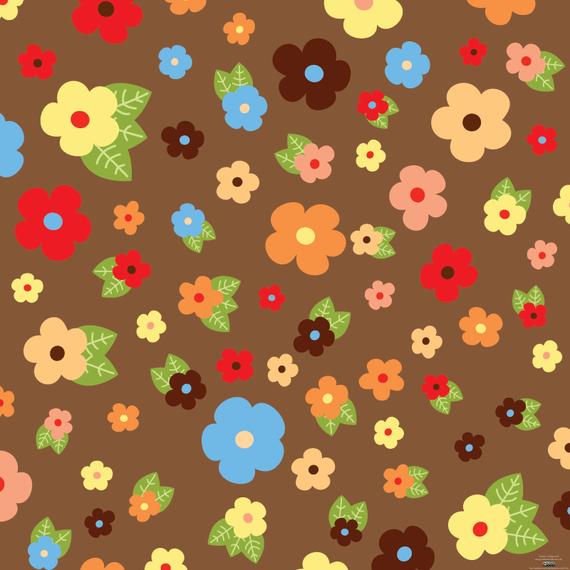 Flowers & Leaves Vector