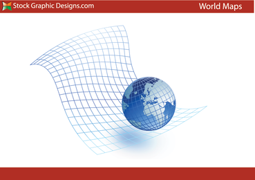 World Globe Vector Graphic