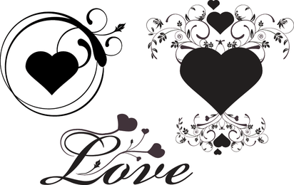 Love Lee Heart Vector