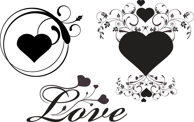 Love Lee Heart Vector - Vector download