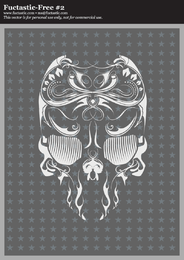 Fuctastic Vector Skull