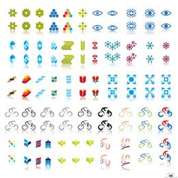 Tipos de logotipo de vetor livre