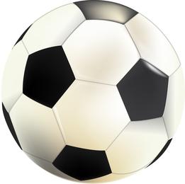 Realistic soccer ball illustration