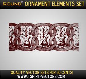 Ornament Vector Sample