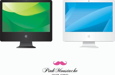 Iconos de vectores iMac