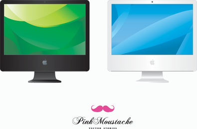 iMac Vector Icons