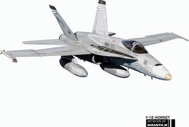 F-18 hornet vector graphic