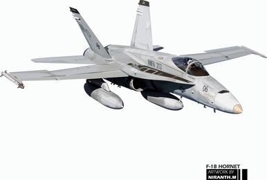 Hornet-Grafik der F-18