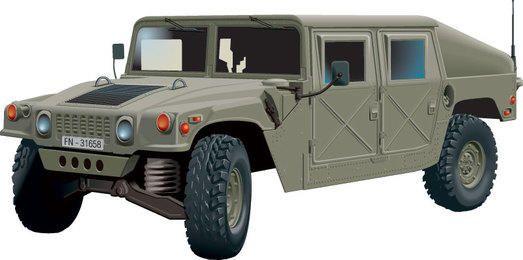 Hummer Fahrzeug