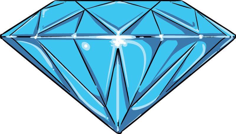 how to make a diamond in photoshop