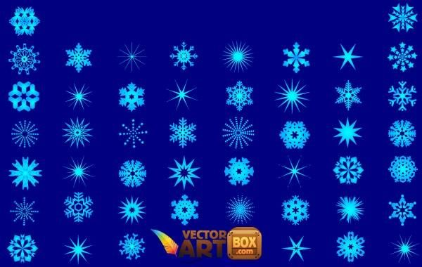 Snowflakes Vector Pack