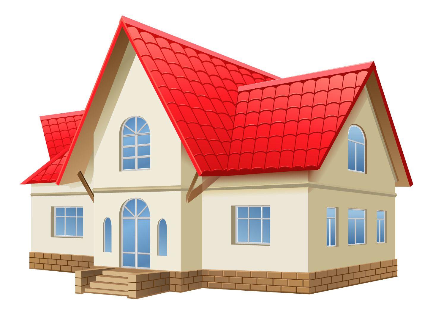 3d realistic 2 almacenado casa descargar vector for Casas 3d