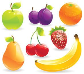 Glossy Detail Healthy Fruit Pack