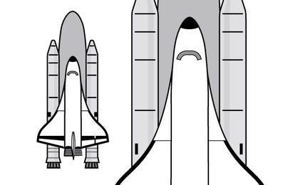 Clipart de ônibus espacial