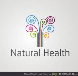 Natural Health Colorful Swirls