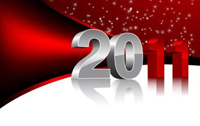 2011 vermelho e branco