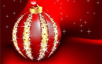 Tarjeta de Navidad hermosa vector