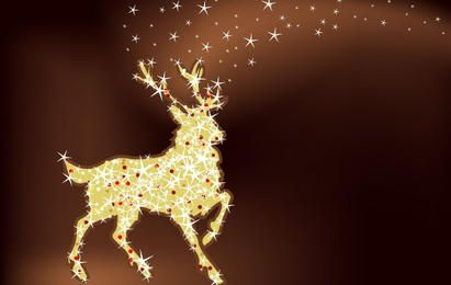 Rena de Natal mágica