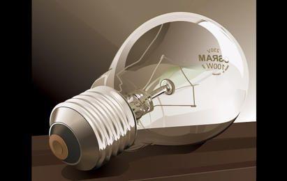 Vetor de lâmpadas ilustração