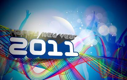 Feliz Ano Novo 2011 Template