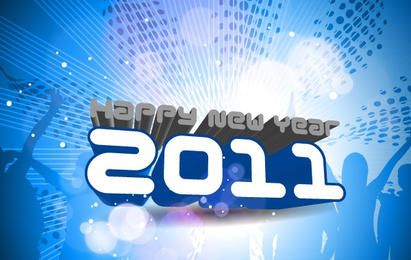 Happy New Year 2011 Template 2