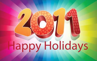 2011 felices fiestas