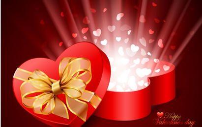 Valentines Day Card Vector Illustration