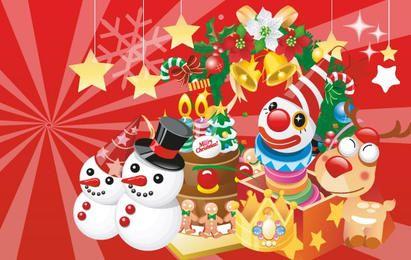 Vector de Banners de Navidad