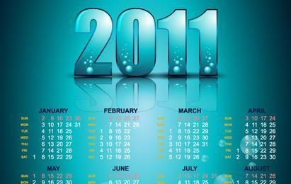 Ano 2011 Calendários 22