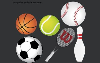 Pacote de vetores de esportes