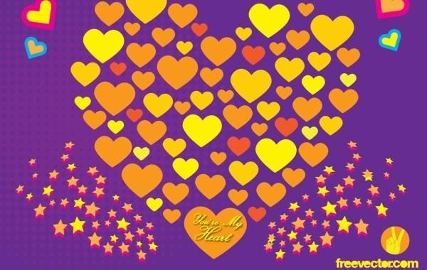 Free Love Vector Art