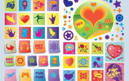 Fun Love Vector Icons