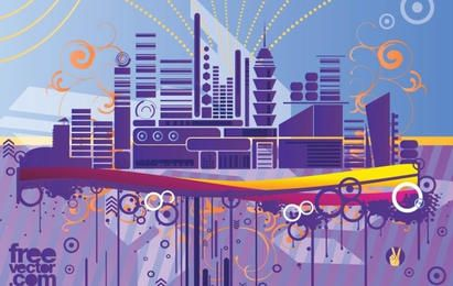 Abstract Urban City Graphics