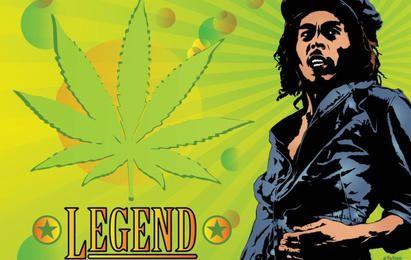 Bob Marley Legende