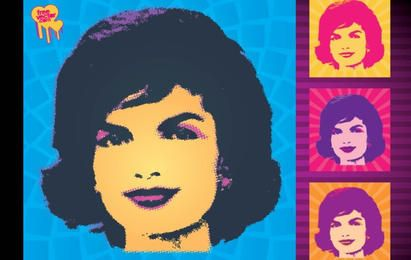 Jackie Kennedy Vector