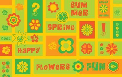 Clipart de flores