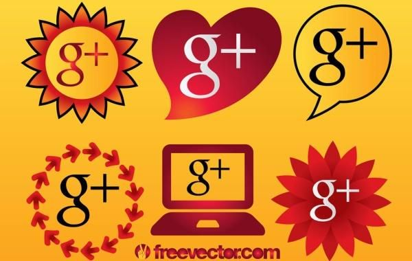 Google Plus Icons