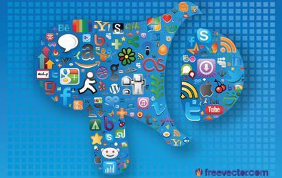 Gráficos de redes sociales