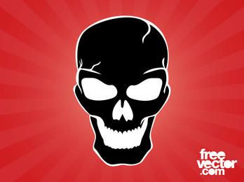 Skull Silhouette Evil