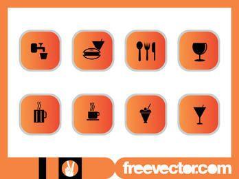 Essen & Getränke Icon Pack