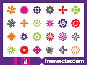 Floral Blossom Icon Pack
