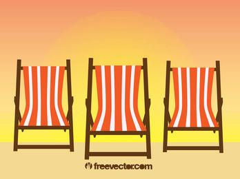 Entspannung Strandstühle