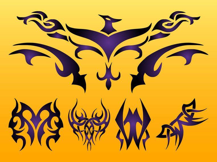 Creative Tribal Phoenix & Tattoos