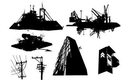 Vector urbano grphics 11005
