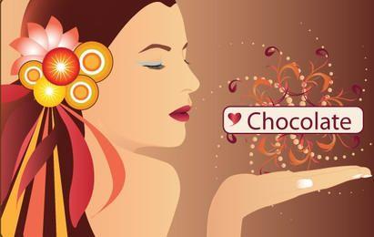 People chocolate