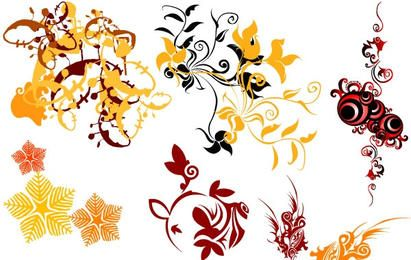 Swirl Flower Vector 3
