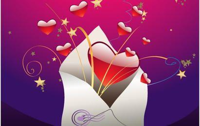 San Valentín Vector ilustraciones 4