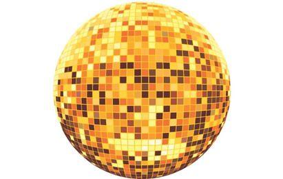 Vetor de bola de discoteca