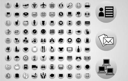 90 Vector Web Icons