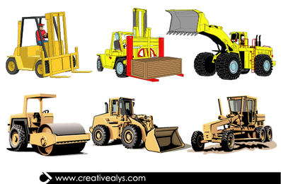 Heavy Enginery Vehicles Pack